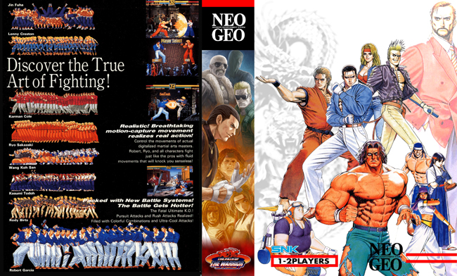 Art of Fighting 3 FF/NC Boxset