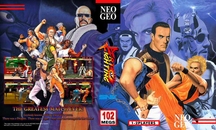 Art of Fighting 1 & 2 Neo Geo Emulator [PC][SF]