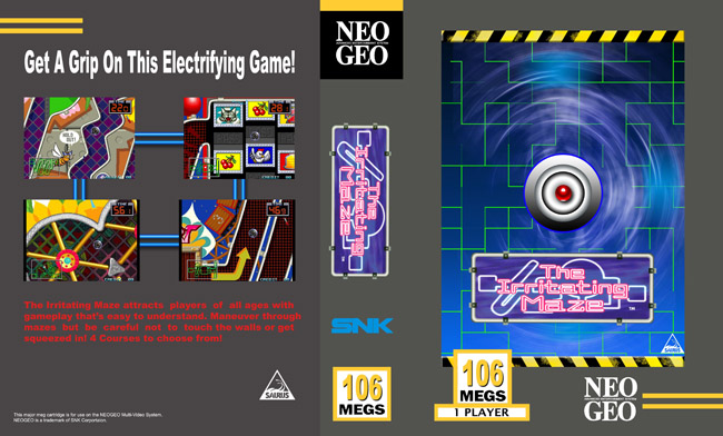 Les Exclu. Neo Geo MVS IrritatingMaze_Classic_NC