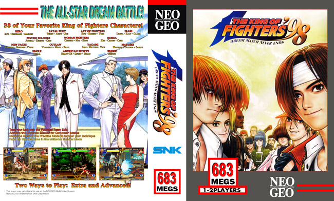 King of Fighters 98 GS