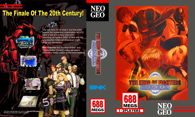 The King of Fighters 2000 NC/6