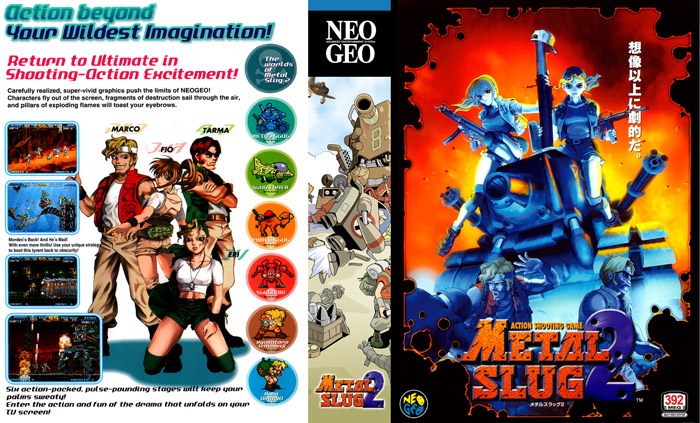 Metal Slug 2 XX-Box