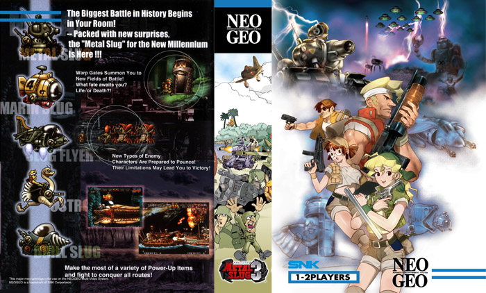 Metal Slug 3 XX-Box