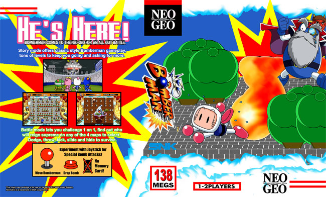 neo bomberman xx $ 3 00 buy now neo bomberman