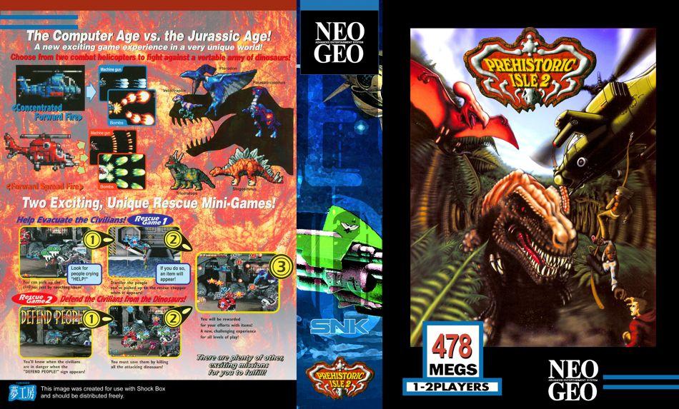 Les Exclu. Neo Geo MVS PrehistoricIsle2JRBox