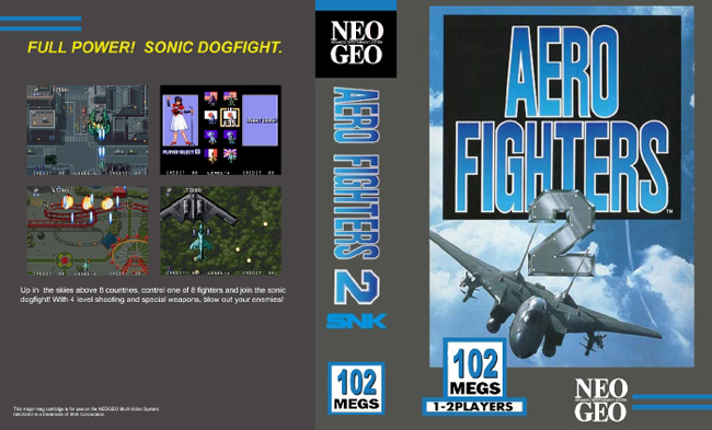 Aero Fighters 2 / Sonic Wings 2 BS/LE2
