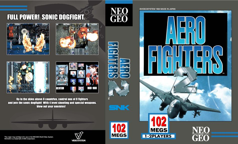 Aero Fighters 2 / Sonic Wings 2 JO