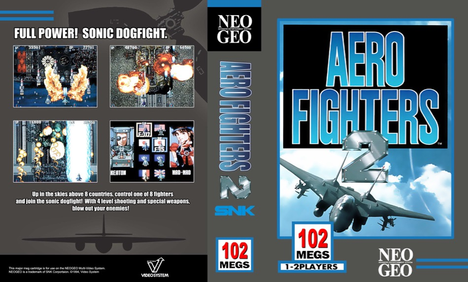 Aero Fighters 2 / Sonic Wings 2 JW
