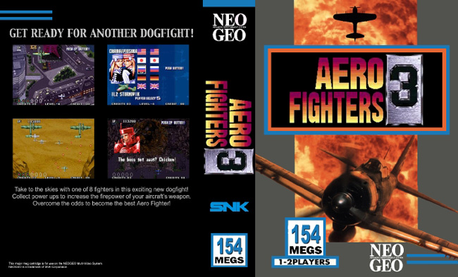 Aero Fighters 3 / Sonic Wings 3 NC/LE (dark)