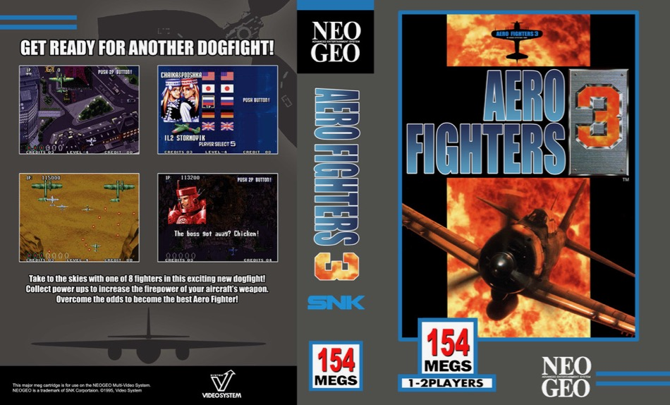 Aero Fighters 3 / Sonic Wings 3 JW