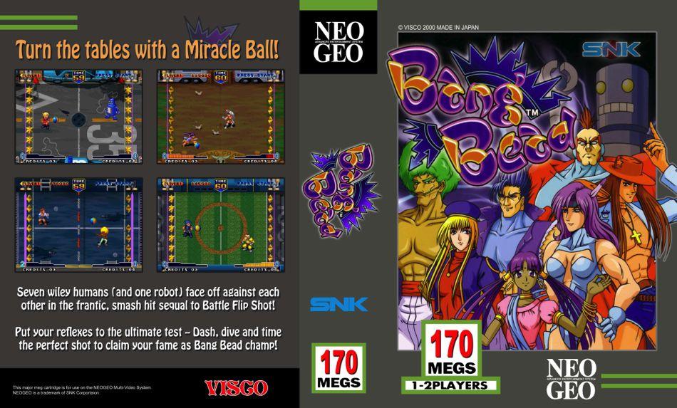 Les Exclu. Neo Geo MVS BangbeadJO