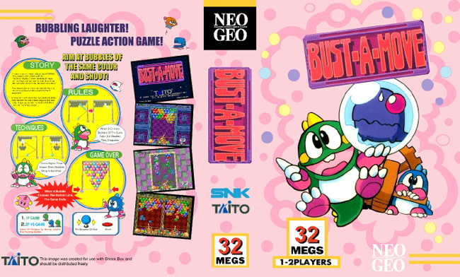 Bust-A-Move/Puzzle Bobble BB/1
