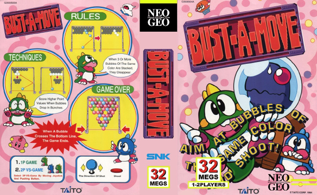 Bust-A-Move/Puzzle Bobble IC