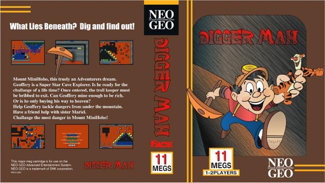 Les Exclu. Neo Geo MVS Diggerman