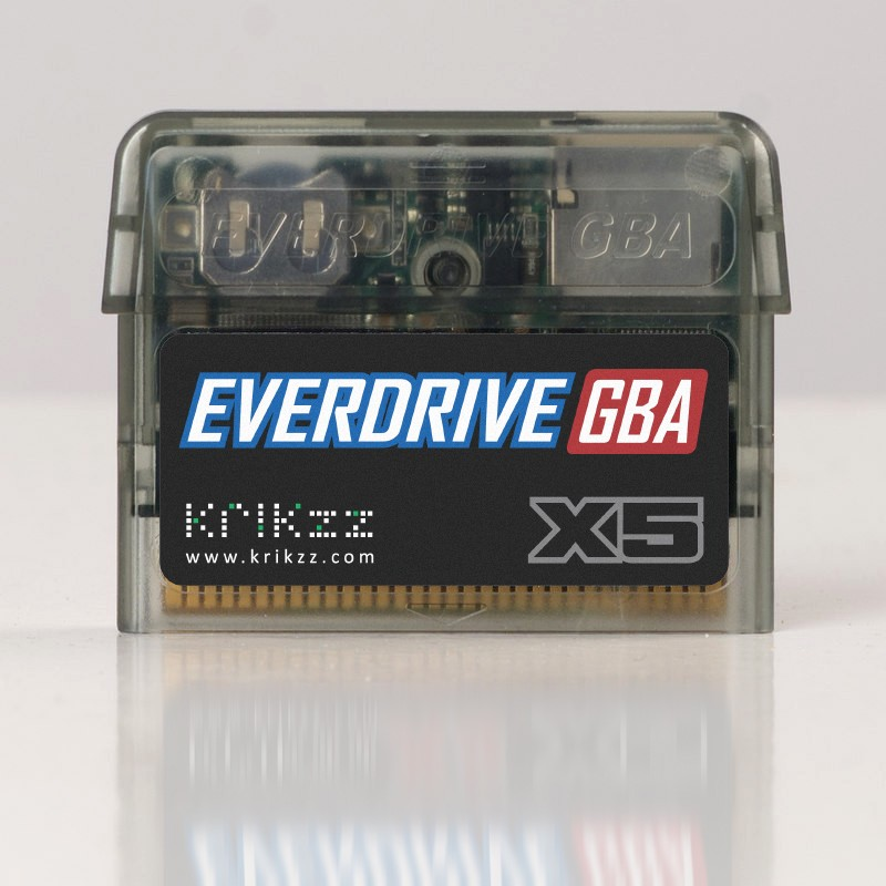 Everdrive GBA X5 by Krikzz