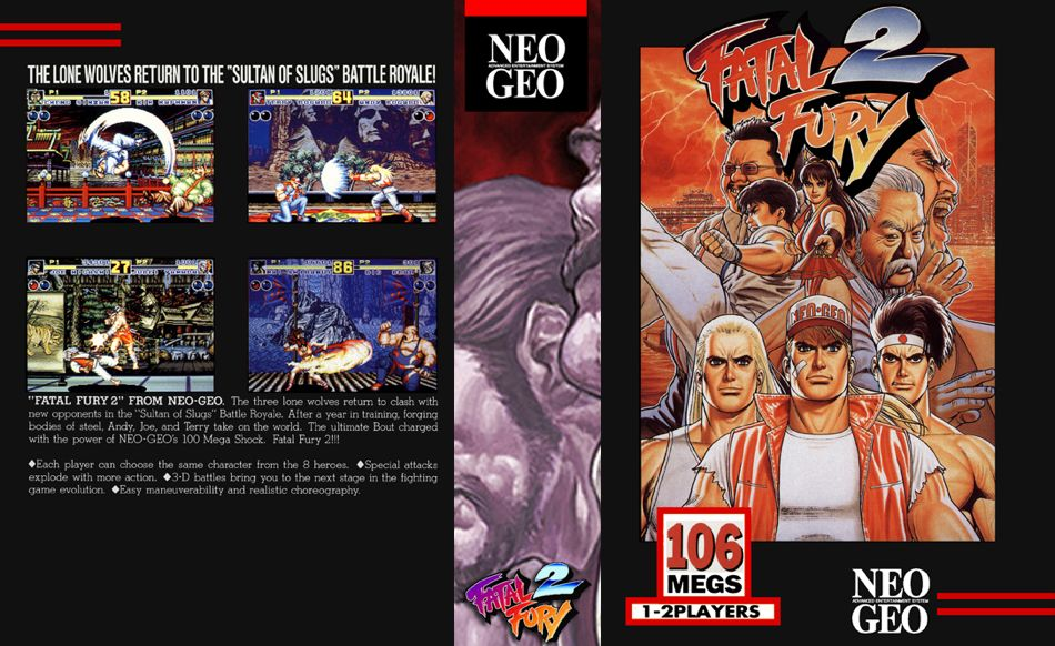 Fatal Fury 2 JR Box