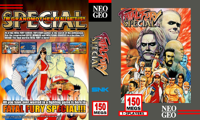 Fatal Fury Special MY