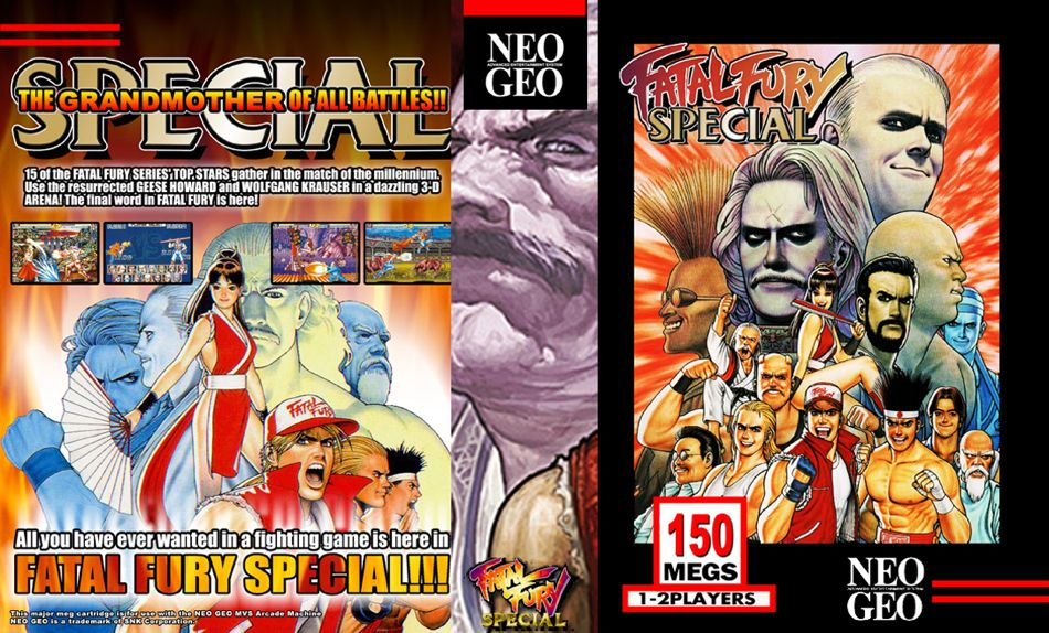 Fatal Fury Special JR Box