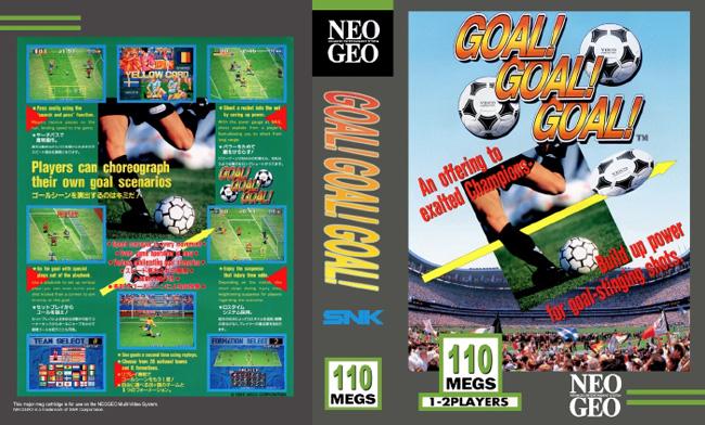 Les Exclu. Neo Geo MVS Goal!goal!goal!
