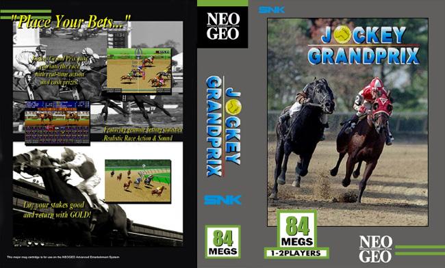 Les Exclu. Neo Geo MVS JockeygrandprixBH