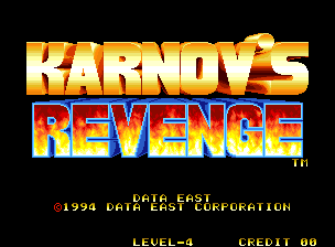 Karnov's Revenge/Fighters Histor