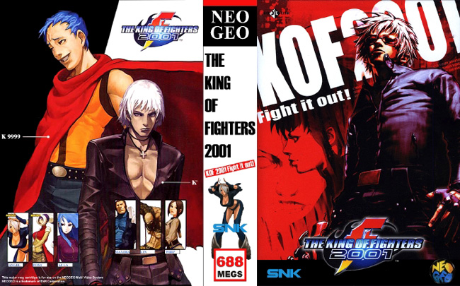 The King of Fighters 2001 JH