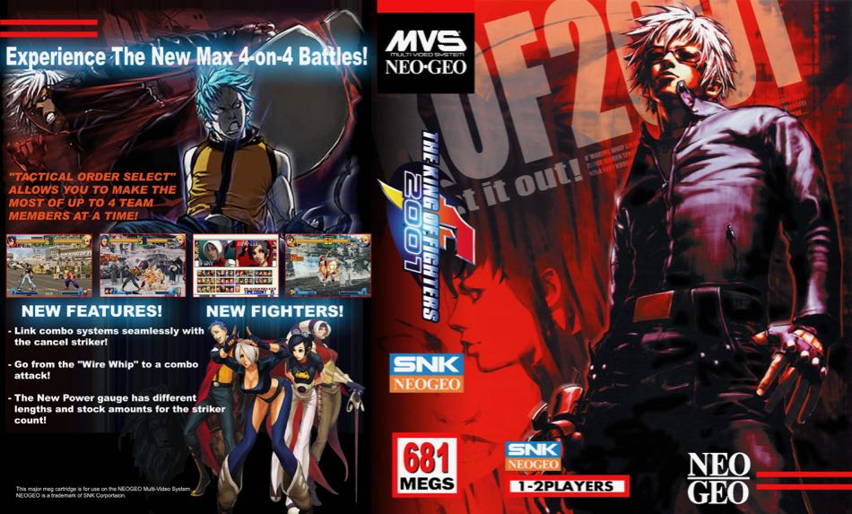 The King of Fighters 2001 MF