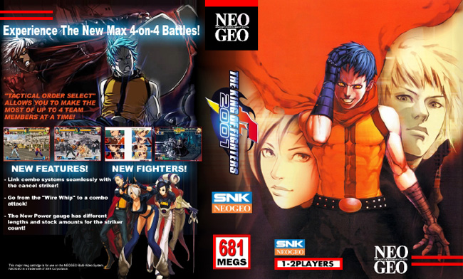 The King of Fighters 2001 NC/2