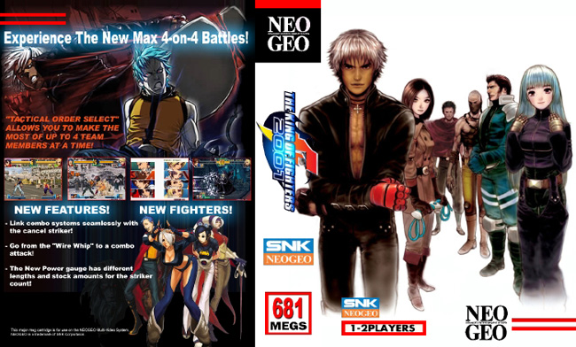 The King of Fighters 2001 NC/3