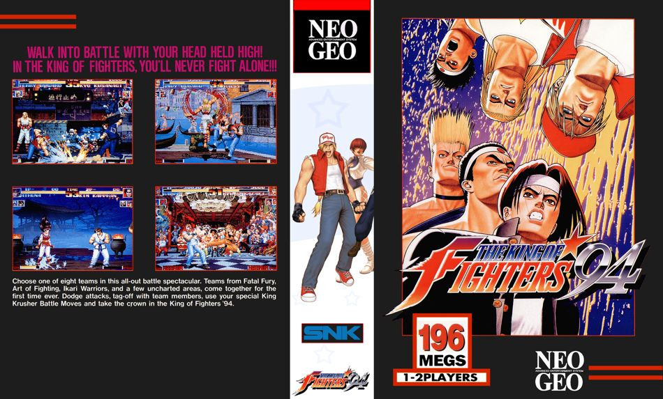 The King of Fighters '94 JR Box