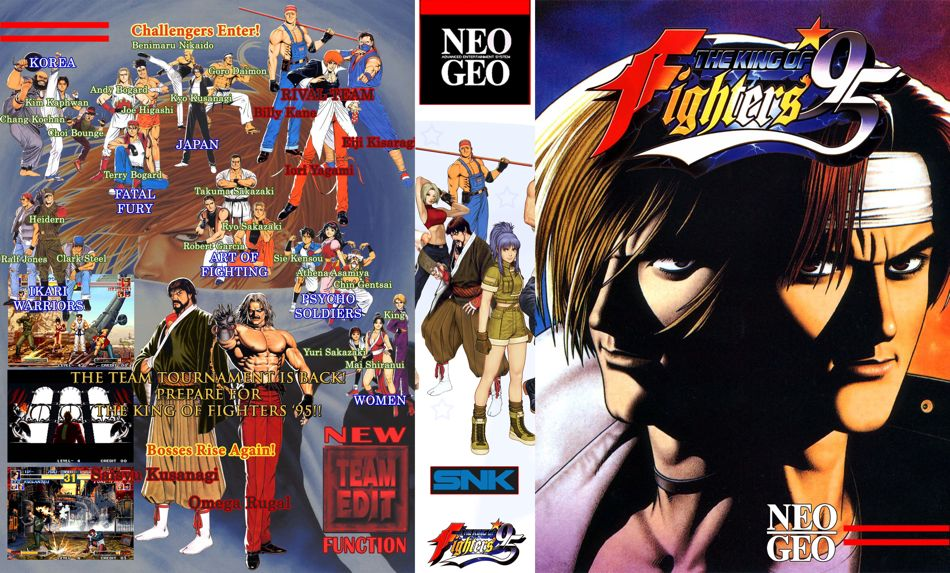 The King of Fighters '95 JR Box