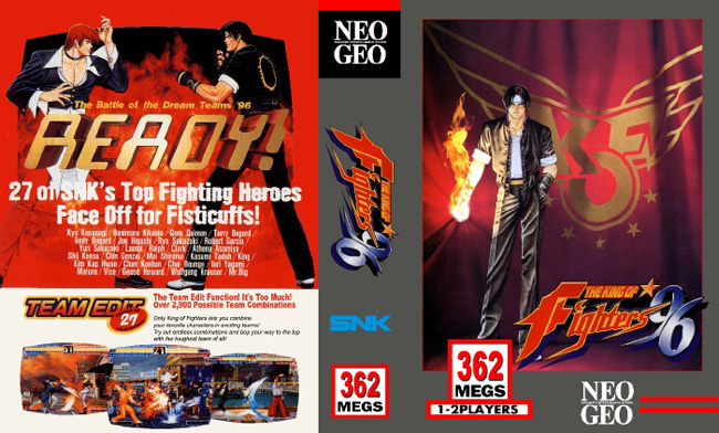 The King of Fighters '96 BB/NC