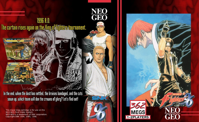 The King of Fighters '96 HG