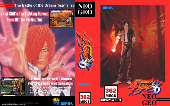 The King of Fighters '96 JH