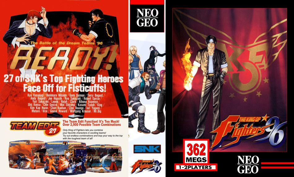 The King of Fighters '96 JR Box