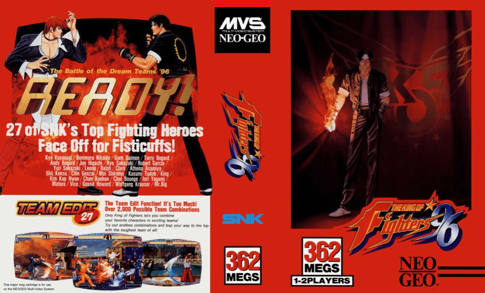 The King of Fighters '96 MF
