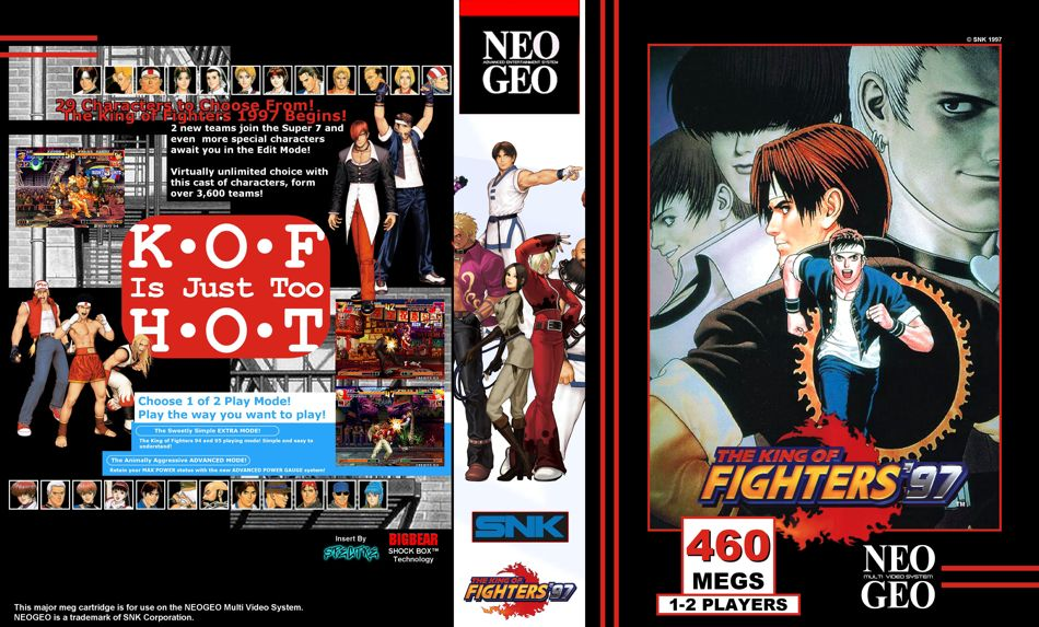 King of Fighters '97 JR Box