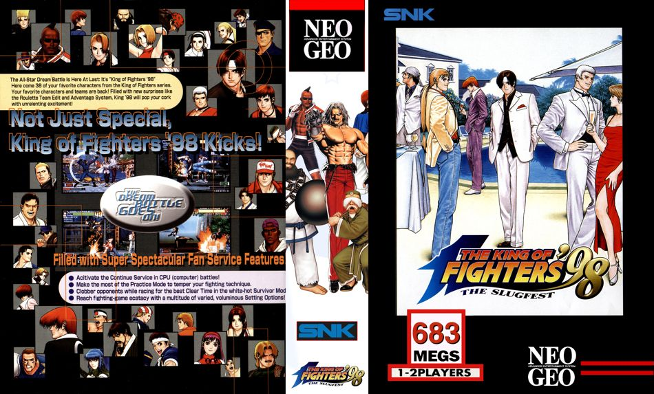 King of Fighters '98 JR Box