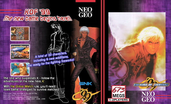 The King of Fighters '99 HG