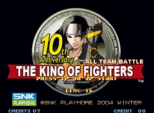 King of Fighters 10th Ann.