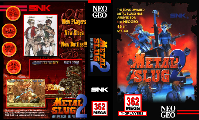 Metal Slug 2 DW