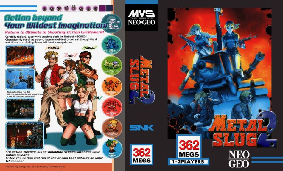 Metal Slug 2 MF