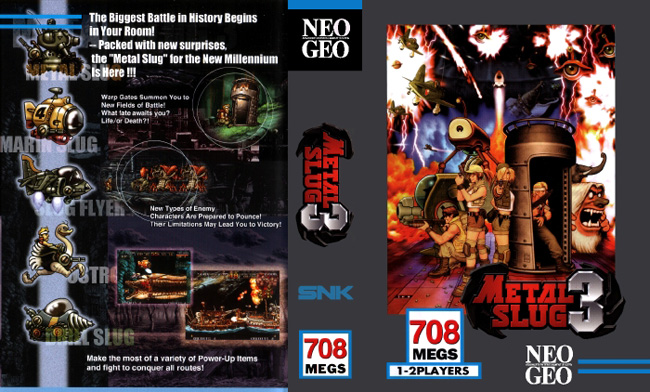 Metal Slug 3 BB