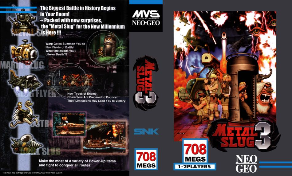 Metal Slug 3 MF