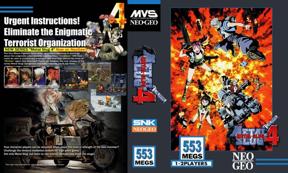 Metal Slug 4 MF