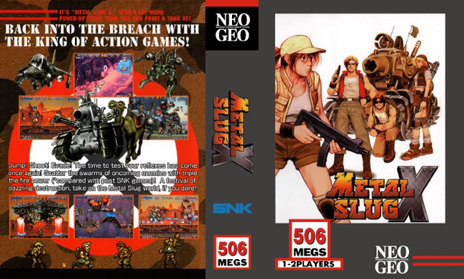 Metal Slug X BB