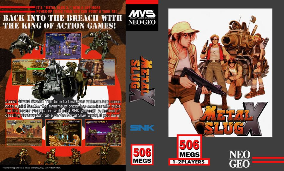 Metal Slug X MF