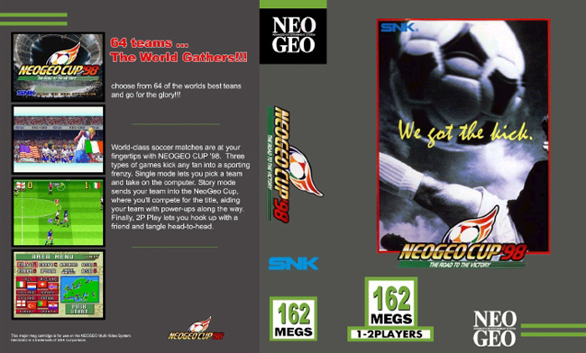 Neo Geo Cup '98 OFTR