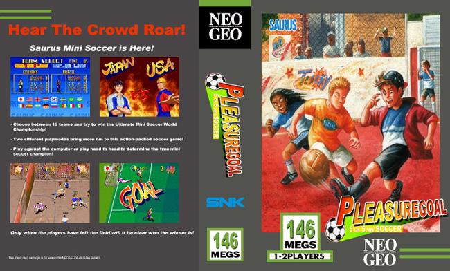 Les Exclu. Neo Geo MVS Pleasuregoal