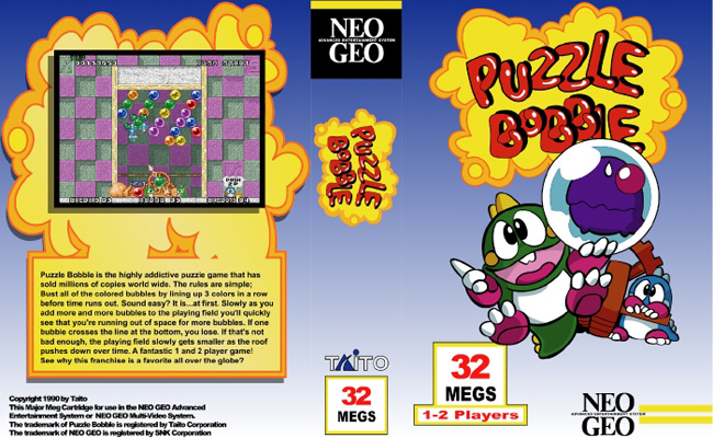 Bust-A-Move/Puzzle Bobble BLN